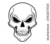 vector illustration of a human...   Shutterstock .eps vector #1542657035