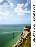 Portrait View Of Beachy Head