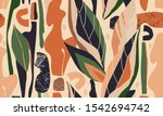 hand drawn abstract pattern.... | Shutterstock .eps vector #1542694742