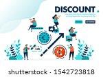 vector illustration discount...