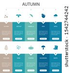 autumn infographic 10 option ui ...