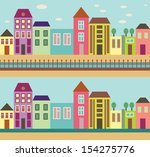 city street | Shutterstock .eps vector #154275776