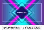 background gaming day abstract. ... | Shutterstock .eps vector #1542814208