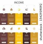 income infographic 10 option ui ...