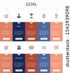 goal infographic 10 option ui...