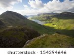 mountain landscape in... | Shutterstock . vector #154294646