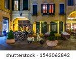 Night View Of Street In Padua ...