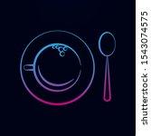 cup a tea  spoon nolan icon....