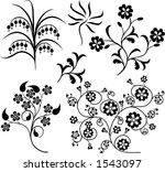 element for design  vector... | Shutterstock .eps vector #1543097