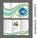 brochure design | Shutterstock .eps vector #154310375