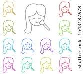 makeup  face  girl multi color...