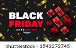 black friday sale promotion... | Shutterstock .eps vector #1543273745