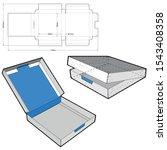 chocolate box  internal... | Shutterstock .eps vector #1543408358