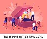 romantic proposal concept. men... | Shutterstock .eps vector #1543482872