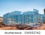 new home under construction... | Shutterstock . vector #154352762