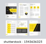 template layout design with...   Shutterstock .eps vector #1543636325