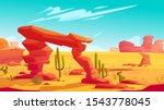 Desert Arch On Natural...