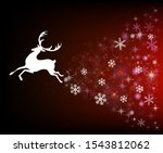 holiday greetings. christmas... | Shutterstock .eps vector #1543812062
