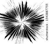 circular starburst explosion...