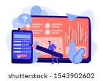 businessman completing online... | Shutterstock .eps vector #1543902602