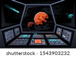control panel dashboard in the... | Shutterstock .eps vector #1543903232