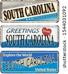 Vintage Tin Sign With America...