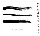 brush stroke watercolor.vector...   Shutterstock .eps vector #1544111822