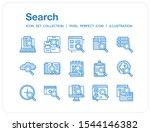 search icons set. ui pixel...