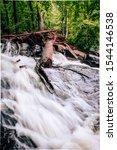 Long Exposure of Sweetwater Creek river