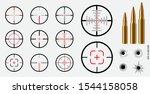 set of sniper view concept.... | Shutterstock .eps vector #1544158058