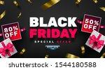 black friday sale promotion... | Shutterstock .eps vector #1544180588