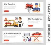 car service  roadside...   Shutterstock .eps vector #1544254958
