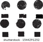 big collection of grunge post...   Shutterstock .eps vector #1544291252