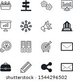 company vector icon set such as ... | Shutterstock .eps vector #1544296502