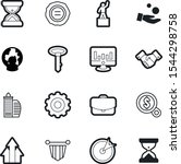 company vector icon set such as ... | Shutterstock .eps vector #1544298758