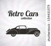 retro car  vintage collection ... | Shutterstock .eps vector #154431575