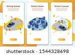 vector mobile illustration set  ...   Shutterstock .eps vector #1544328698