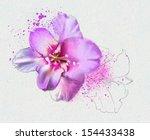 A Beautiful Flower Watercolor