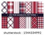 Tartan Set Pattern Seamless...