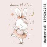 Cute  Cartoon Baby Bunny Hare ...