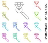 history  diamond multi color...