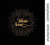 Happy New Year 2020 Hand...