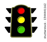 road sign   traffic lights icon ...   Shutterstock .eps vector #1544441162