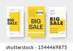 set of vector story templates... | Shutterstock .eps vector #1544469875