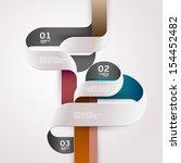 elements of infographics. | Shutterstock .eps vector #154452482