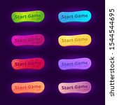 set of 8 gradient buttons for...