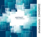abstract vector background.... | Shutterstock .eps vector #154458902