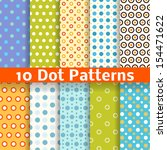 10 Different Dot Vector...