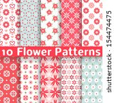 10 Different Flower Vector...