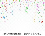 set of isolated vector party...   Shutterstock .eps vector #1544747762